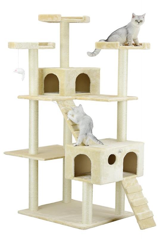 Go Pet Club Cat Tree - Beige