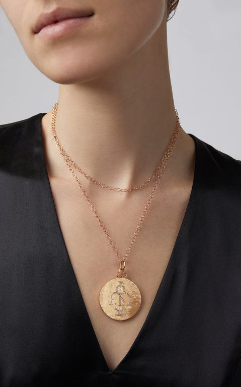Devon Woodhill Large Monogram Locket